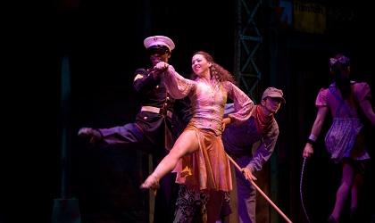 Cirque Dreams Illumination at the Mullins Center on Superbowl Sunday