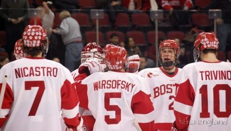 BU hockey struggling as it gets ready to take on UMass