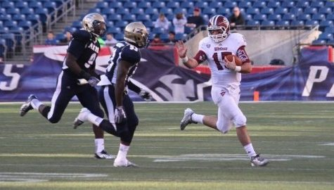 UMass football embracing the learning curve, culture change under Mark Whipple in spring practice