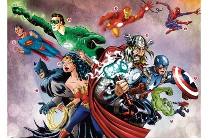 DC and Marvel taking over television
