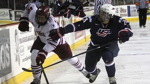 UMass hockey stunned by AIC