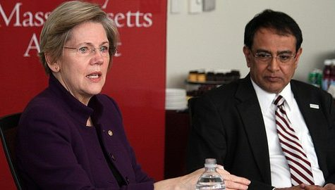 Sen. Elizabeth Warren visits UMass to discuss LSL, life science research funding, student loan debt
