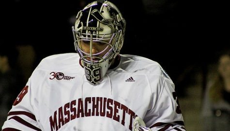 Reviewed game-tying goal turning point in UMass hockey's loss
