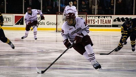 UMass hockey fights for position in standings versus BU