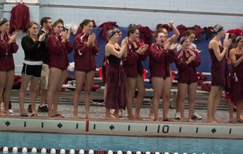UMass women's swimming and diving finishes third in Dartmouth Invitational, men take second