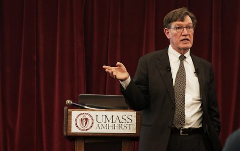 UMass professor gives climate change lecture
