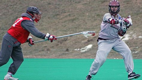 UMass lax preps for match with reshaped Harvard