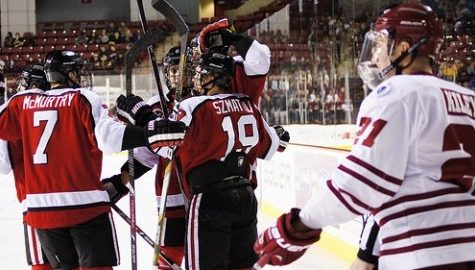 UMass hockey's comeback bid falls short versus Northeastern