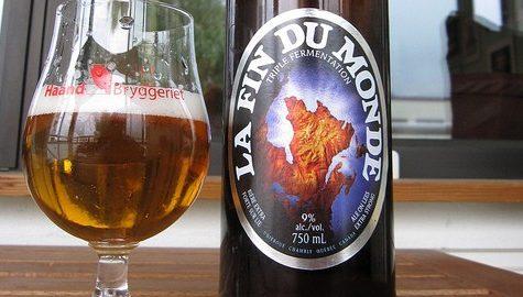 Unibroue's La Fin du Monde Tripel Ale goes 15th century on your taste buds