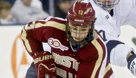 Hockey East notebook: BC clinches regular-season title, Black Bears roll