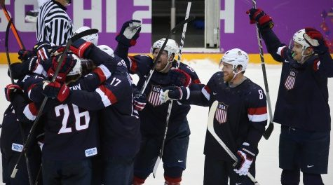 Olympics Roundup: US men's hockey advances to quarterfinals