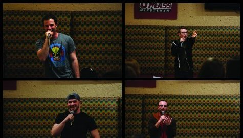 UMass student begins stand up comedy RSO