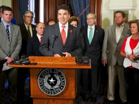 Courtesy of Texas Governor Rick Perry/Flickr