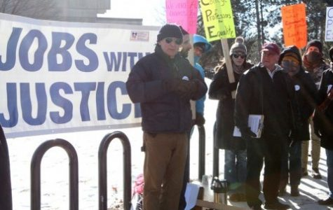 UMass faculty rally for equal rights