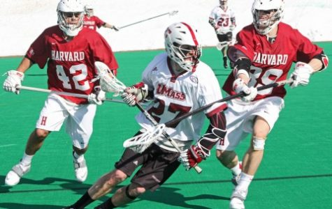 Second half surge leads UMass men's lacrosse over Harvard