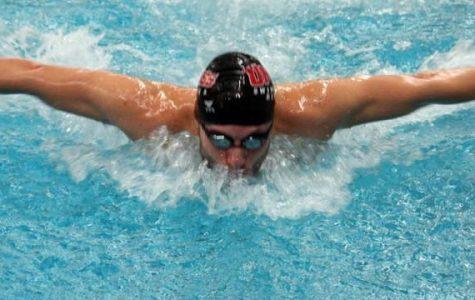 UMass swimming and diving sweeps meet versus Fordham