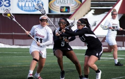 UMass women's lacrosse pulls away from Vanderbilt in season opener