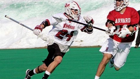 UMass men's lacrosse falls big to Albany for its first loss of the season