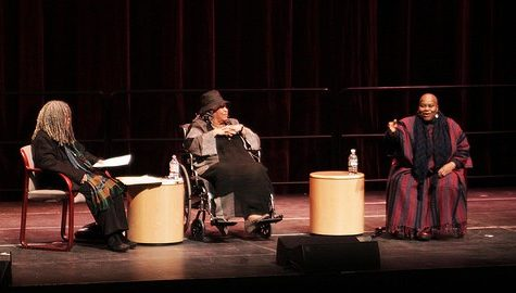 Acclaimed artists Toni Morrison, Bernice Johnson Reagon and Sonia Sanchez visit UMass