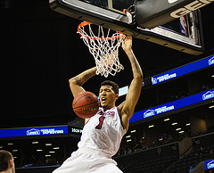 Slideshow: UMass vs. URI, Atlantic 10 Tournament