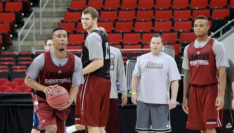Gallery: UMass basketball holds open practice at PNC Arena, preps for first NCAA Tournament game