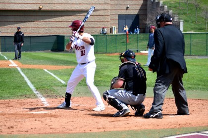 UMass baseball opens A-10 play with series victory, but falls in Sunday's finale