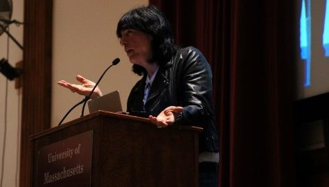 Marky Ramone speaks at UMass