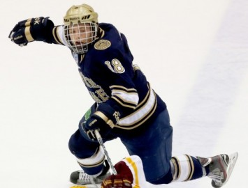 Notre Dame's T.J. Tynan (Richard Tsong-Taatarii/ Minneapolis star Tribune/MCT)