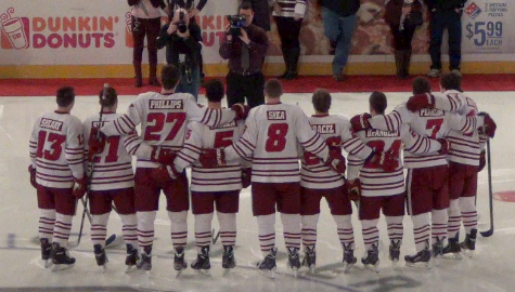 UMass hockey seniors embrace final chance to win Hockey East Tournament game