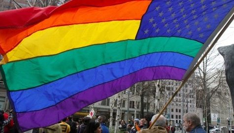 Gay marriage supported by human rights