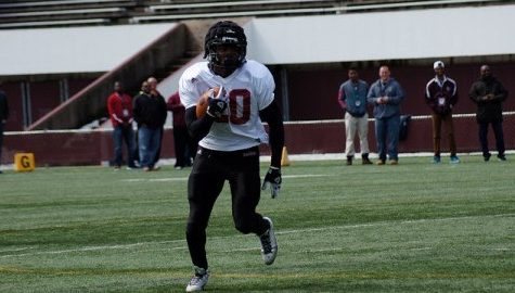 After trying freshman season, UMass football's Lorenzo Woodley excited to play in offensive system that 'fits my running style'