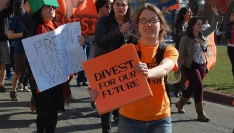 Divest UMass ups tactics for raising awareness among students