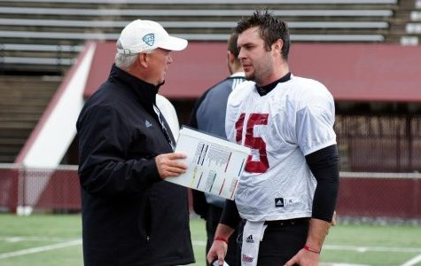 UMass quarterback A.J. Doyle using spring camp to gain an edge, adjust to new offensive system