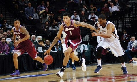 Maxie Esho looks to continue to spark UMass basketball off the bench