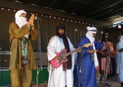 Desert rock band Tinariwen to headline the Iron Horse