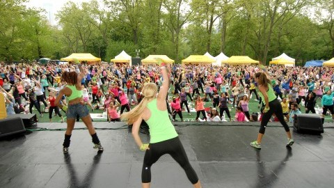 Workout on the Quad comes to UMass