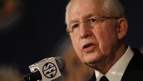Southeastern Conference commissioner Mike Slive latest McCormack Executive-in-Residence