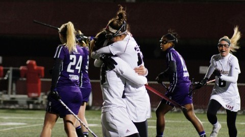 No. 11 UMass women's lacrosse overcomes early deficit to top La Salle in conference opener