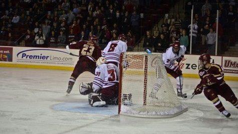 UMass hockey cuts goaltender Mac Haight