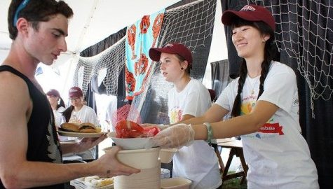 UMass holds world's largest clambake
