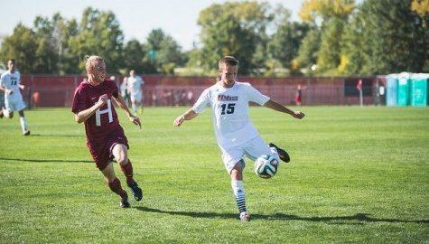 Only a freshman, Matthew Mooney provides valuable minutes for UMass men's soccer