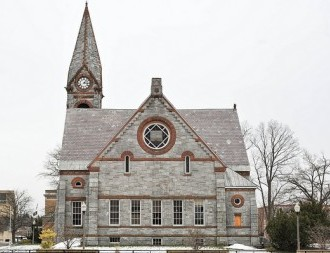 The Old Chapel at UMass, which was nominated as a Historic Place for the National Register. (Justin Surgent/Collegian File Photo)