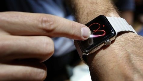 Apple unveils new smartwatch and larger iPhone 6