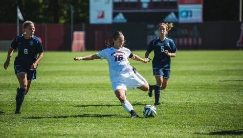 UMass women's soccer battles Harvard to a draw