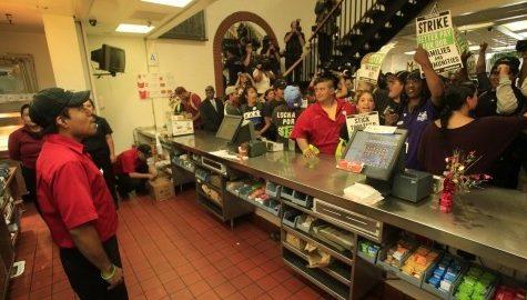 Fast Food strike symbolic of laziness, lack of accountability