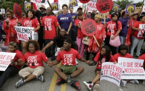 Fast food strikers right to demand stake in 'American dream'