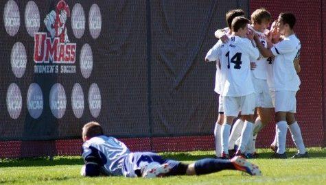 UMass men's soccer returns to friendly turf