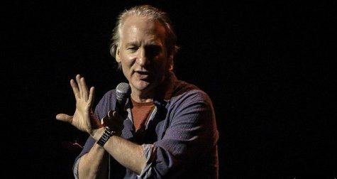 Bill Maher live at The Orpheum Theatre in Memphis, Tennessee 1/26/13 (Photo courtesy of Matt McClenahan/Flickr)