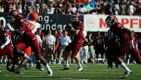 Missed opportunities overshadow impressive day for UMass football