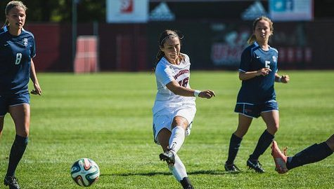 Jackie Bruno's equalizer secures a tie for UMass against George Mason